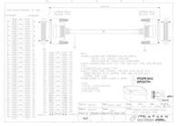 Sandberg SCSI Cable HPDB68M-HPDB68M 1 m 500-87 Prospecto