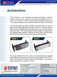 Titan TTC-HDC2 Leaflet