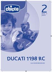 Chicco DUCATI 1198 RC User Manual