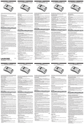 Uniross Sprint CR-V3 Set RC104370 Leaflet