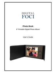 Digital Foci Portable Digital Photo Album Manual Do Utilizador