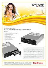 ICY BOX IB-2222SSK 20295 Leaflet