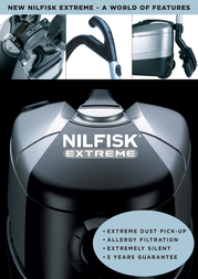 Nilfisk X 110 EXTREMEX110 Leaflet