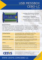 Cesys CEBO-LC C028152 Data Sheet