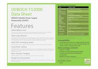 DEBOCH Technology T12000 DEBOCH T12000 GREEN Leaflet