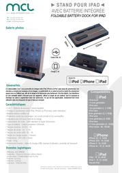 MCL ACC-IPAD22 Leaflet