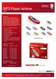 Difrnce MP820 512 MP820512 Leaflet