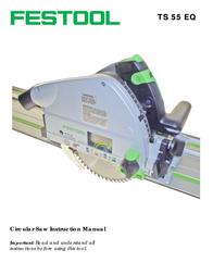 Festool Circular Saw PN561438 User Manual