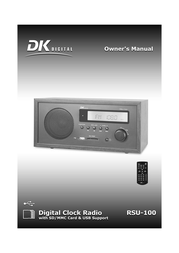 DK digital rsu-100 User Guide