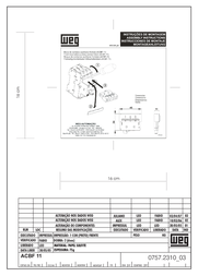 Weg ACBF-11 Auxiliary Switch For MPW Front sided extension ACBF-11 Data Sheet