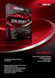 SOFTWIN BitDefender Total Security 2008, DE, 3 Users, 1Year KIT33100119796 Leaflet