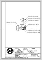 Koenig Meyer K + M Ball Joint 19695-300-55 Data Sheet