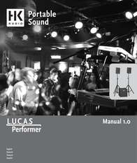 HK Audio LUCAS Performer 4039373014648 Data Sheet