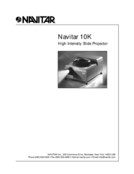 Navitar 10k 사용자 가이드