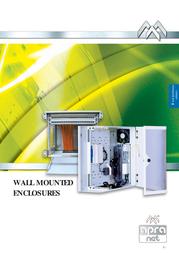"""Apranet VARI 2000 19"""" Wall-Mounted Enclosure 4U 21-3031-00 User Manual"""