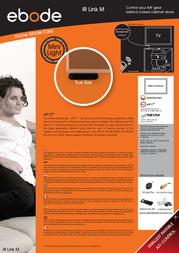 ebode IR Link Pro Mini IRLPRMK Leaflet
