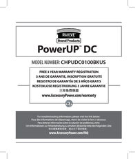 Accessory Power PowerUP DC 0637836538096 User Manual