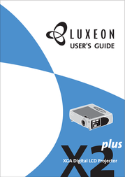 Luxeon polysilicone LCD Projection lamp AV-X2Plus User Manual