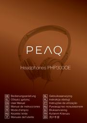 PEAQ PHP300OE User Manual