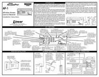 Linear ACCESSPRO AP-1 Leaflet