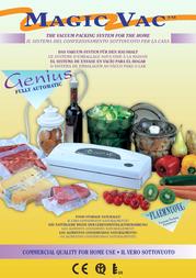 Magic Vac Genius Kit V402PK1 Leaflet