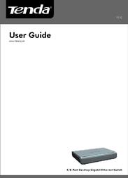 Tenda G1008D User Manual