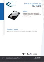 i3 International 3-1TB-R5-UG Data Sheet