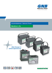 Gnb Marathon L2V220, 2V Ah lead acid battery NALL020220HM0FA NALL020220HM0FA Data Sheet