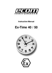 Ecom Instruments EX-TIME 50 User Manual