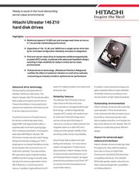 Hitachi ULTRASTAR 146Z10 36GB U320 IC35L036UCDY10 Leaflet