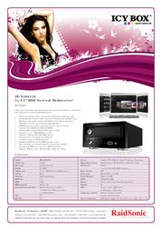 ICY BOX IB-NAS6210 43100 User Manual
