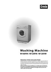 Creda W120VW User Manual