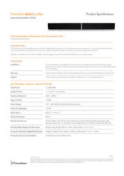 Promethean ActivSoundBar ASB-40 Leaflet