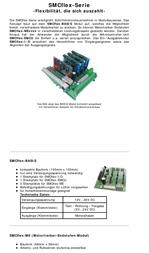 Emis SMCflex-ME3000 Motor Driver End Step Modules SMCflex-ME SMCflex-ME3000 Data Sheet