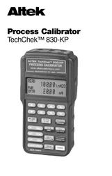 ALTEK a 830-KP User Manual