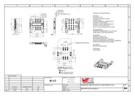 Wuerth Elektronik Würth Elektronik Content: 1 pc(s) 693010020611 Data Sheet
