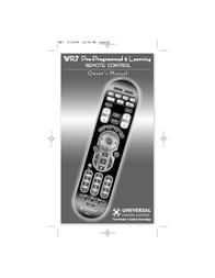 Universal CONTROL WR7 User Manual
