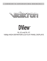 Vidikron VL-57 User Manual