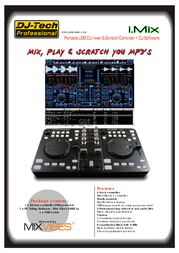 DJ-Tech Pro i-Mix IMIX User Manual