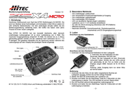 Hitec X1 Touch 114123 User Manual