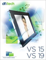 """DFI VS485 (15"""") Leaflet"""