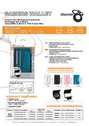 Draxter DR-4323 Leaflet