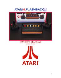 Atari FLASHBACK2 CX-2600 User Manual
