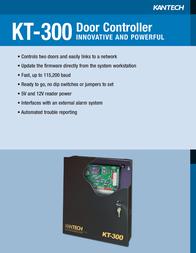 Kantek Door Controller Innovative and Powerful KT-300 Leaflet