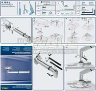 myWall 4026156000004,Projector Wall Mount, Silver (matt), , 15 kg 4026156000004 Data Sheet