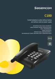 Sagemcom C100 Leaflet