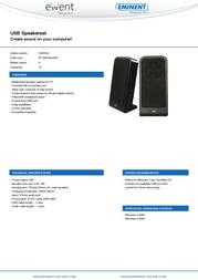 Ewent EW3502 Leaflet