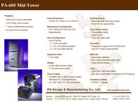PADM PA600 ATX 15-311301#03 Leaflet