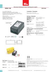 Alpha Elettronica SWDM 12-412 SWDM12-412 Leaflet