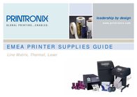 Printronix Economy Wax Ribbon 8300 203484-103 User Manual